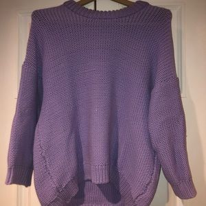 H&M sweater in purple